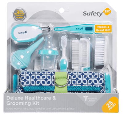 Amazon: Safety 1st Deluxe 25-Piece Baby Healthcare and Grooming Kit (Arctic Blue) for $15.99 (Reg. 19.99)
