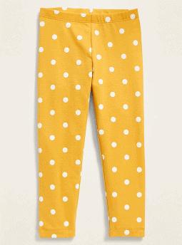 Old Navy: Printed Full-Length Leggings for Toddler Girls ONLY $1.97