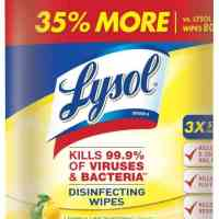Amazon: Lysol Disinfecting Wipes, Lemon & Lime Blossom JUST $9.72 (Reg. $13.94)