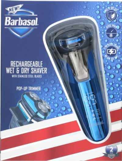 Best Buy: Barbasol Rechargeable Wet/Dry Rotary Electric Shaver w/Trimmer for $24.99 + Free Store Pickup! (Reg.$39.99)