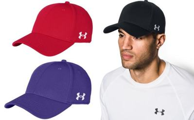 Proozy: Under Armour Solid Curved Cap ONLY $1.99 (Reg $25)