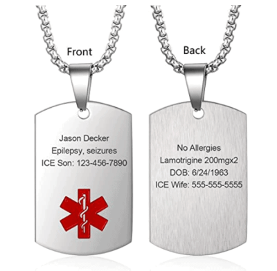Amazon: Wendy Made Medical Alert Necklace For $8.49 (Reg $16.99)