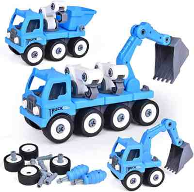 Amazon: Take Apart Truck Toy Constructions Play Vehicles Set for $8.49 W/ Code (Reg. $16.99)