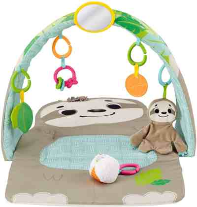 Amazon: Fisher-Price Sensory Sloth Gym for $29.72 (Reg. $39.99)