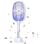 Amazon: Bug Zapper, Mosquito Killer Mosquitoes Trap Lamp & Racket 2 in 1 for ONLY $31.44