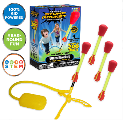 Walmart: Stomp Rocket Ultra, 4 Rockets for $17.99 Free Store Pickup! (Reg. $29.00)