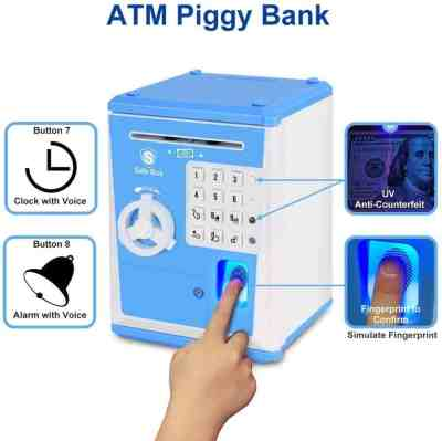 Amazon: ATM Piggy Bank for $15 with Code