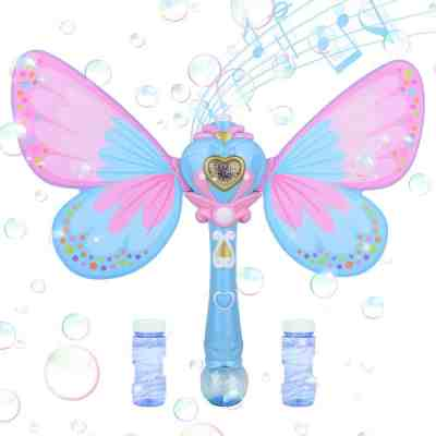 Amazon: Musical Light up Butterfly Bubble Wand for $9.56