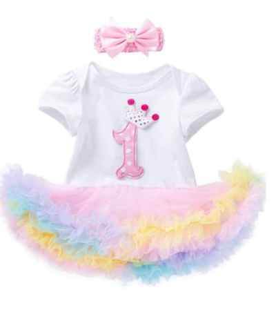 Amazon: Baby Girl 1st Birthday Tutu Lace Dress with Headband for $11.19 (Reg. Price $15.98)