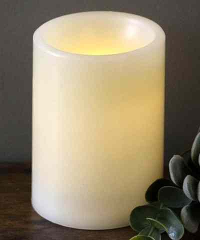 Zulily: Ivory LED Candle 4-Inch ONLY $10.71 (Reg $18)