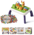 Amazon: 150 Pcs Large Brick and Activity Table Sets for $16.00 (Reg. $39.99)