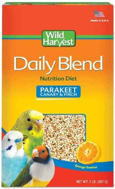 Amazon: Wild Harvest Daily Blend For Parakeet, Canary, Finch & Small Birds 2Lb for $1.96 (Reg. $4.81)