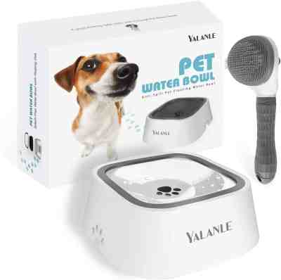 Amazon: No-Spill Pet Water Bowl Slow Water Feeder for $7.50 W/ Code (Reg. $24.99)