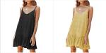 Amazon: 70% OFF on Chuanqi Women's Spaghetti Strap Mini Dress