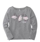 Belk: Doorbuster Deal! Crown & Ivy™ Girls 7-16 Long Sleeve Printed T-Shirt for $8.40 + Free Store Pickup! (Reg.$28.00)