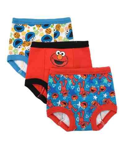 Zulily: Elmo Three-Pair Training Pants Set Now $8.96-$8.98 (Reg $15.99)