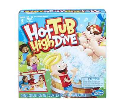 Amazon: Hasbro Gaming Hot Tub High Dive Game for $5.12 (Reg. Price $19.99)