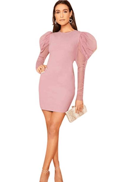 Amazon: Verdusa Women's Elegant Mini Dress For $8.99