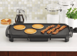 Walmart: Mainstays Dishwasher-Safe 20″ Black Griddle for $19.96 (Reg. Price $31.00)