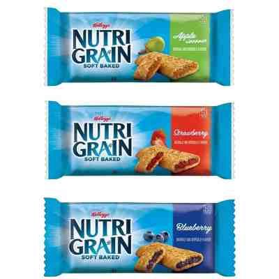 Staples: Nutri-Grain Bars, Variety, 1.3 oz., 48/Carton $19.14 (Reg $31.61)