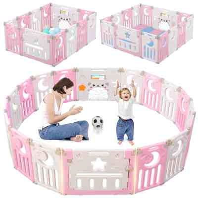 Amazon: New Clips Design Foldable Kids Activity Centre Safety Play Yard, Just $94.33 (Reg $173.89) after code and coupon!