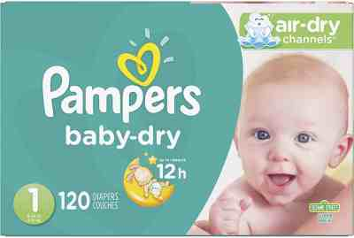 Amazon: Pampers Cruisers Baby Dry Diapers 120 Count ONLY $19.99 (Reg $37)