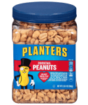 Amazon: Planters Salted Cocktail Peanuts, 35 ounce Resealable Jar $4.53