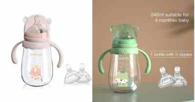 Amazon: Anti-Colic Silicone Nipples Toddler Bottles For $7.99 (Reg $20)