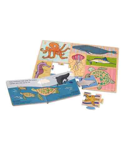 Zulily: Melissa & Doug Deep Blue Sea Book & Puzzle Now $6.79