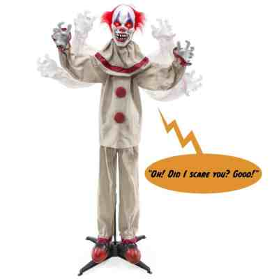 Best Choice Products: Scary Harry the Motion Activated Animatronic Killer Clown, Just $49.99 (Reg $79.99)