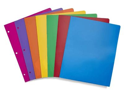 Staples: Staples Poly 2-Pocket school Folder 52819 for $0.25 (Reg. Price $1.49)