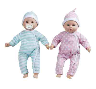 Amazon: Melissa & Doug Luke & Lucy Twin 15 Inches Dolls for JUST $20.99 (Reg $40)