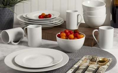 JCPenney: Tabletops Unlimited 16 Piece Dinnerware Set ONLY $14.99 (Regularly $50)