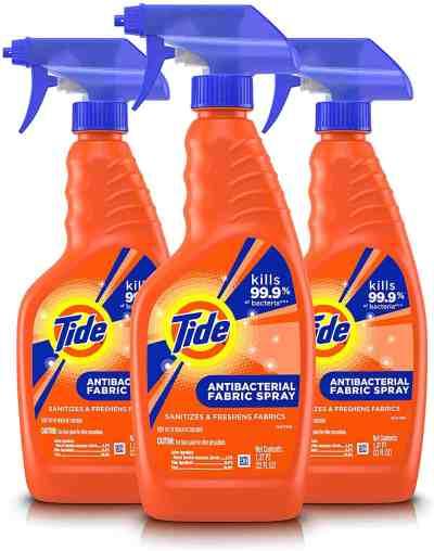 Amazon: Tide Antibacterial Fabric Spray, 3 Count, 22 Fl Oz Each, Just $16.99