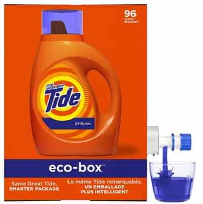 Amazon: Tide Laundry Detergent Liquid Eco-Box for $14.94 (Reg. Price $21.99) after coupon!