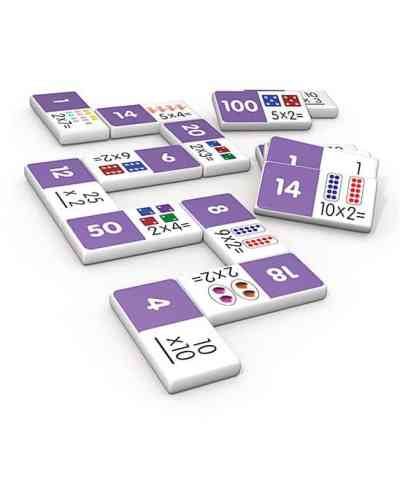 Zulily: Multiplication Dominoes Set Only $8.32 (Reg $12.99)