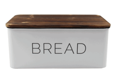 "Michaels: 11.8"" White Bread Box by Ashland $14.99!!(Reg. $24.99)"
