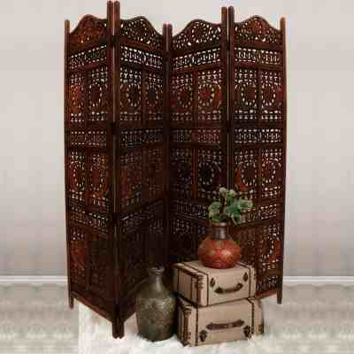 Home Depot: 4-Panel Wooden Room Divider ONLY $230.72 (Reg $330) + FREE Shipping