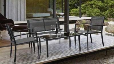 Walmart: Outdoor Patio 4 Piece Conversation Furniture Set for JUST $114 (Reg $170)
