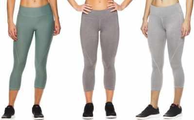 Proozy: Reebok Women's Capri Seamed Leggings ONLY $5 (Regularly $60)