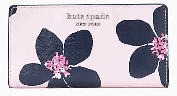 Kate Spade: Cameron Large bifold Wallet $49(Reg. $149)