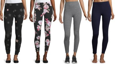 JCPenney: Women's Leggings Up to 75% OFF – Starting at ONLY $7.49 (Lots of Styles!)