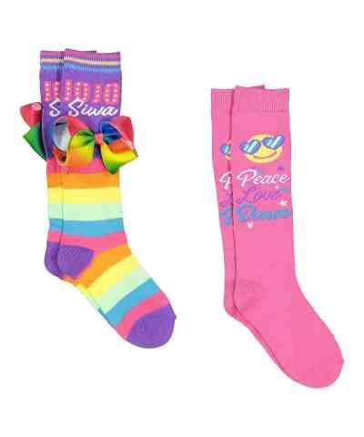 Zulily: JoJo Siwa Pink & Purple Two-Pair Socks Set $8.99 (Reg $12.00)