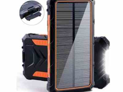Amazon: 20000mAh Solar Power Bank for $19.99 (Reg. Price $39.99) after code!