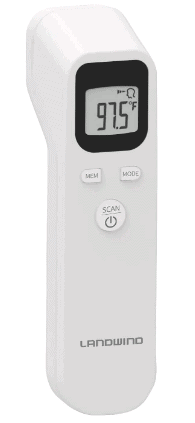 Amazon: LANDWIND Forehead Thermometer for $25.49 (Reg. $29.99)