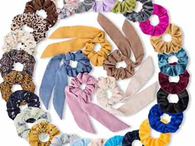 Amazon: 30 Pcs Hair Scrunchies for $7.99 (Reg. Price $15.99) after code!