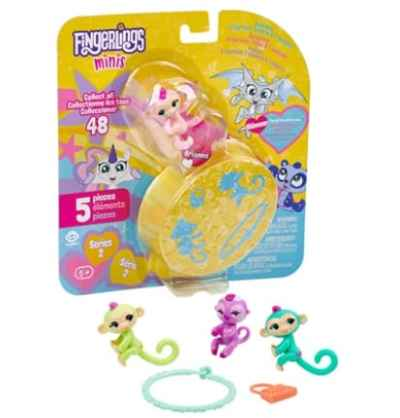 Amazon: 5 Piece WowWee Fingerlings Minis for $3.99 (Reg. Price $7.99)