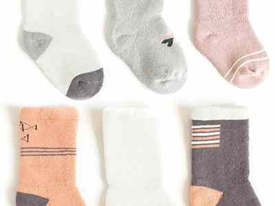 Amazon: 6 Pairs Baby Socks for $6.40 (Reg.Price $15.99) after code!