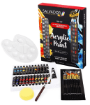 Amazon: Salvador Acrylic 40 Piece Paint Set for 10+