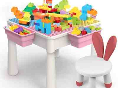 Amazon: 5-in-1 Multi Kids Activity Table Set for $59.99